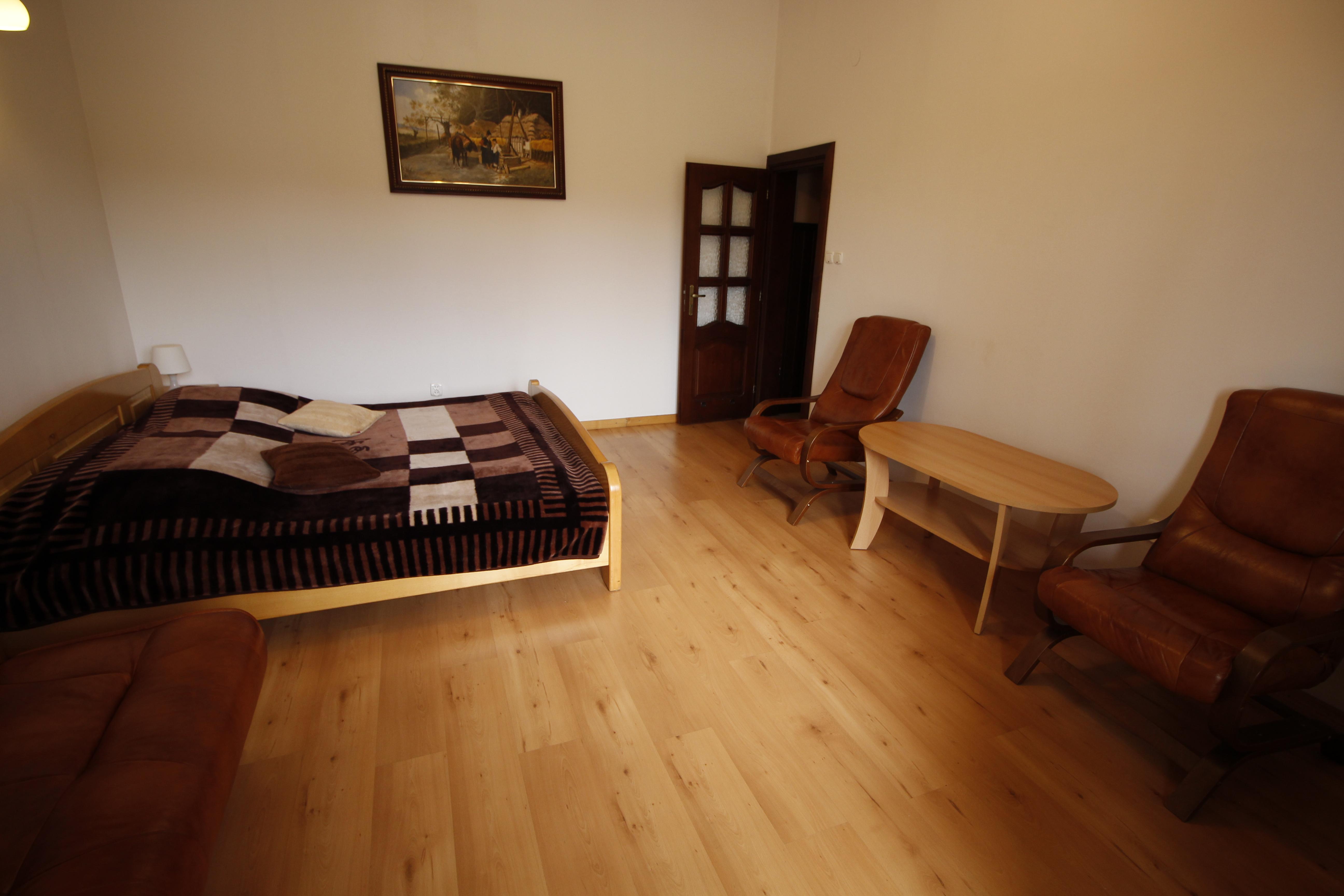 apartament familijny sypialnia